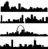 American buildings Royalty Free Stock Image