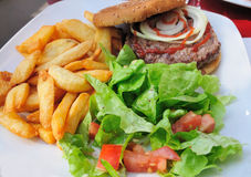 American burger Royalty Free Stock Photo