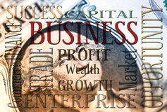 American business concept Royalty Free Stock Photo