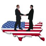 American business meeting Royalty Free Stock Photography