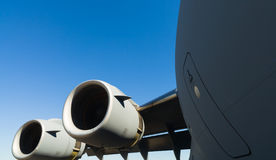 American C-17 Globemaster jet transport airplane Stock Photos