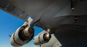 American C-17 Globemaster jet transport airplane Stock Photo
