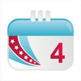 American calendar icon Stock Photos