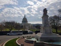 American& x27; Campidoglio di s in Washington DC fotografia stock libera da diritti