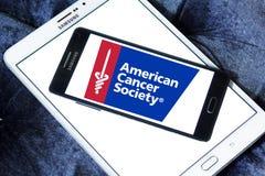 American Cancer Society , ACS, logo. Logo of American Cancer Society , ACS, on samsung mobile. The American Cancer Society ACS is a nationwide voluntary health Royalty Free Stock Photo