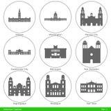American Capitals - Part 1 Stock Image