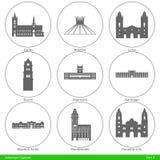 American Capitals - Part 4 Stock Image