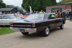 American Car Day at Brooklands Motor Circuit. Stock Photo