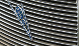 American car detail Royalty Free Stock Images