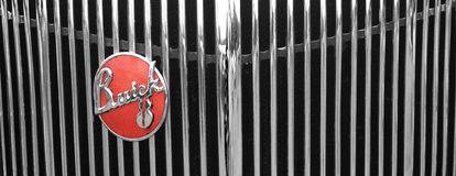 American car detail Stock Photos