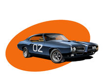 american car muscle ελεύθερη απεικόνιση δικαιώματος