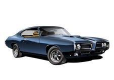 american car muscle διανυσματική απεικόνιση