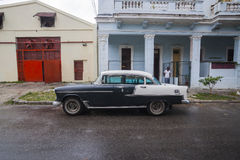 Old American car in Havana, Cuba Stock Photography