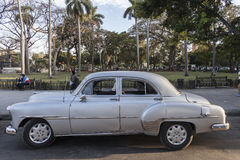 Old American car in Havana, Cuba Stock Image