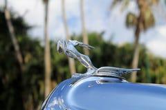 American car radiator filler cap detail close up Stock Image