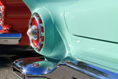 American car rear details Royalty Free Stock Image