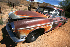 american car rusty vintage Στοκ Φωτογραφία