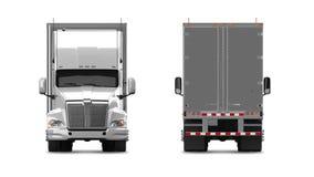 American Cargo Truck Royalty Free Stock Photo