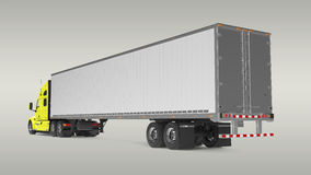 American Cargo Truck Royalty Free Stock Images
