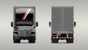 American Cargo Truck Stock Photos