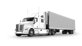 American Cargo Truck Royalty Free Stock Image
