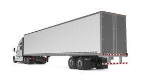 American Cargo Truck Royalty Free Stock Photos