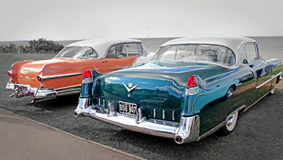 American cars vintage Royalty Free Stock Photo
