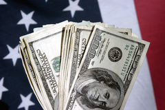 American Cash Royalty Free Stock Photos