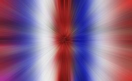 American celebration. Red, white,blue burst of color royalty free stock image
