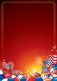 American Celebration Vector Background Stock Photography