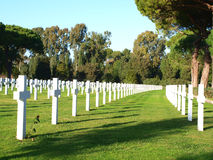 American cemetery Stock Images