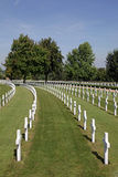 American Cemetery. American war cemetery at Madingley in Cambridge, England Royalty Free Stock Images