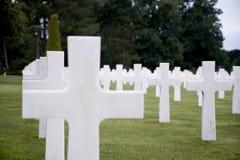 American cemetery Stock Photos