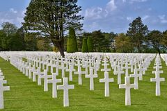 Free American Cemetery At Normandy Stock Photo - 9303280