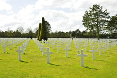 American Cemetery Colleville Royalty Free Stock Image
