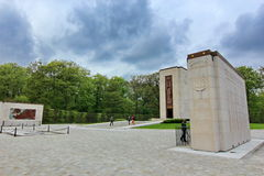 American Cemetery in Luxembourg Stock Image