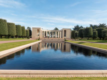 American cemetery Royalty Free Stock Images