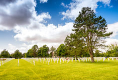 American cemetery in Normandy, France Stock Image