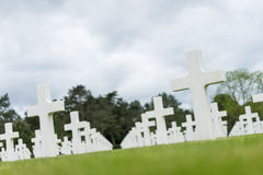 American Cemetery at Normandy Stock Photography