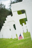American Cemetery at Normandy Stock Photos