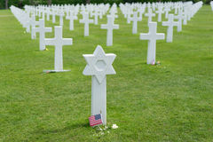 American Cemetery at Normandy Stock Image