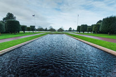 American Cemetery in Normandy Monument,France royalty free stock photo