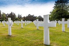 American Cemetery Normandy. Stock Image