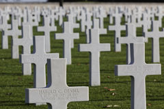 American Cemetery in St-James Royalty Free Stock Photography