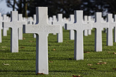 American Cemetery in St-James Stock Photos