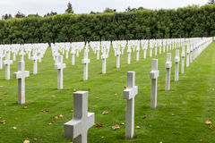 American cemetery WW1 soldiers who died at Battle of Verdun Stock Image