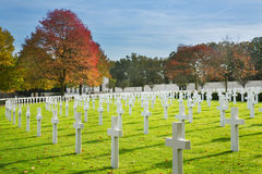 American Cemetry Stock Image