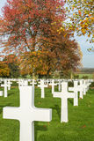 American Cemetry Royalty Free Stock Images
