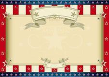 American certificate vector illustration