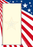 American certificate poster Stock Photography